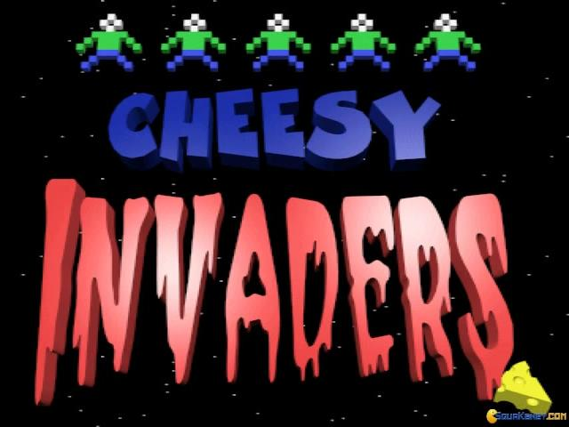 Cheesy Invaders - title cover
