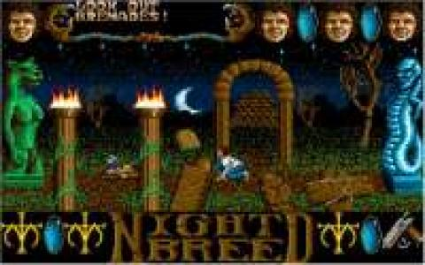 Nightbreed: The Action Game - title cover