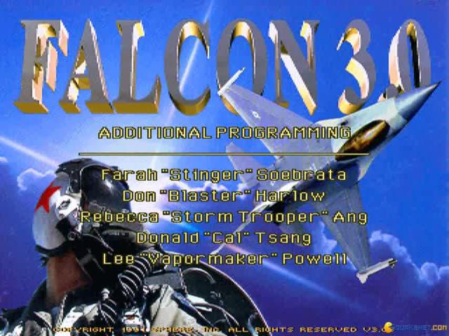 Falcon 3.0: Operation: Fighting Tiger - game cover