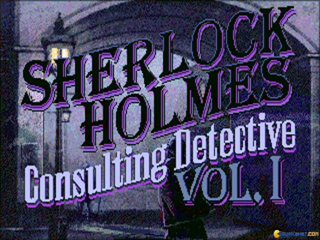 Sherlock Holmes: Consulting Detective - title cover