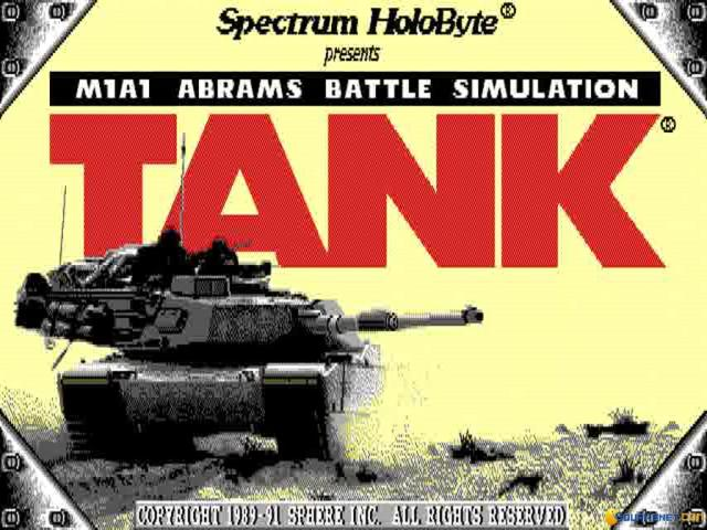 Tank: The M1A1 Abrams Battle Tank Simulation - title cover