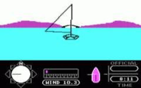 The American Challenge: A Sailing Simulation - title cover