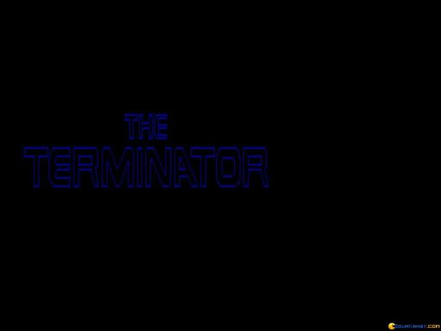 The Terminator - title cover