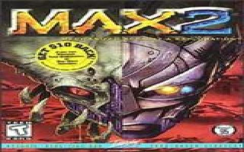 M.A.X. 2: Mechanized Assault and Exploration - title cover