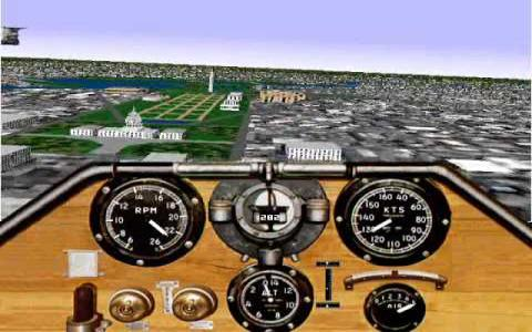 Microsoft Flight Simulator for Windows 95 - game cover