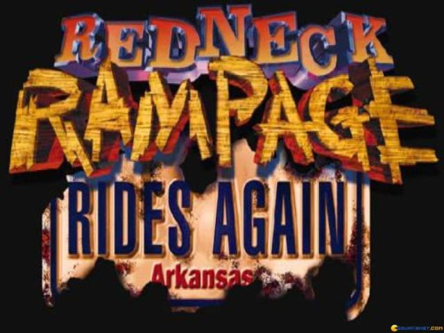 Redneck Rampage: Rides Again - title cover