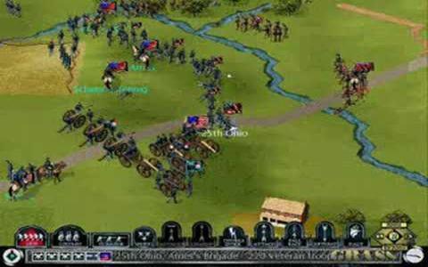 Sid Meier's Gettysburg! - title cover