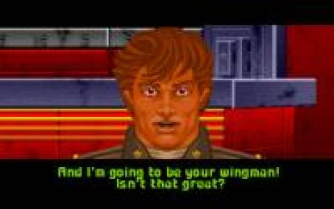 Wing Commander: The Secret Missions 2 - title cover