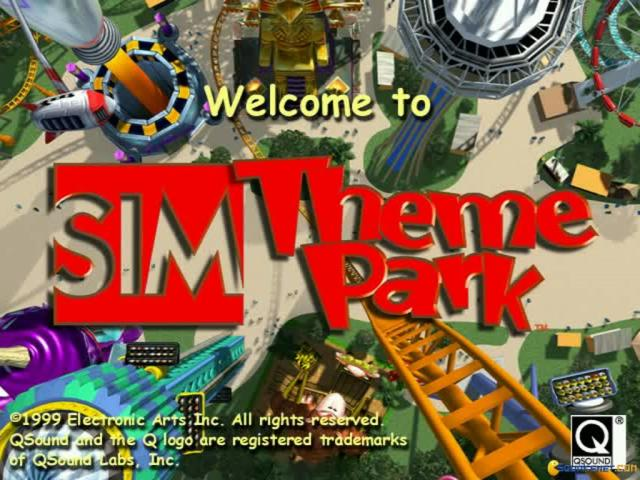 Sim Theme Park - title cover