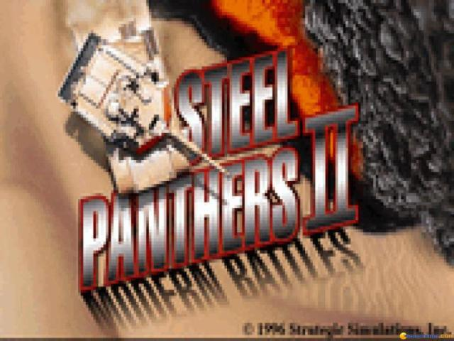 Steel Panthers 2: Modern Battles - title cover