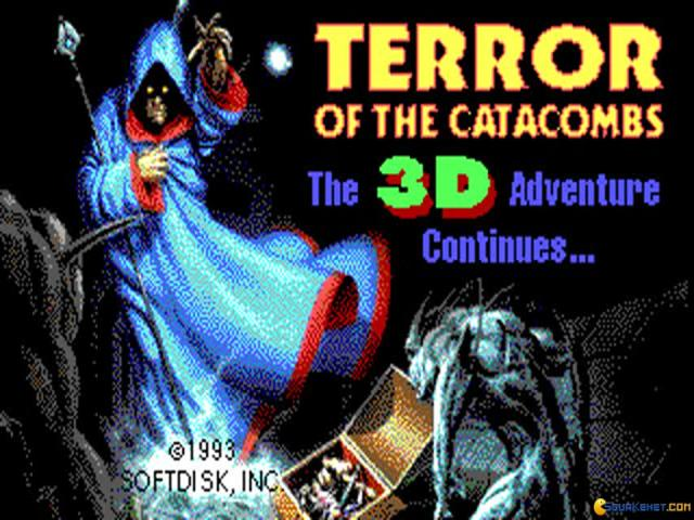 Terror of the Catacombs - game cover