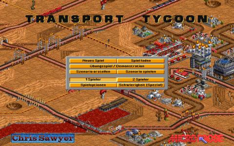 Transport Tycoon on Mars - game cover