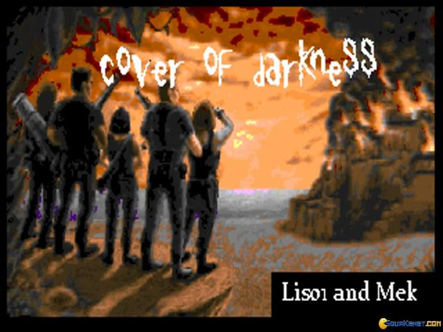 Wolfenstein 3D: Cover of Darkness - title cover