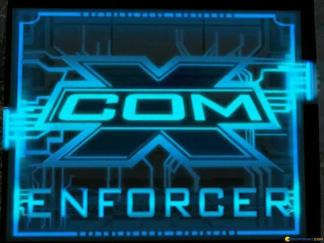 X-COM: Enforcer - title cover