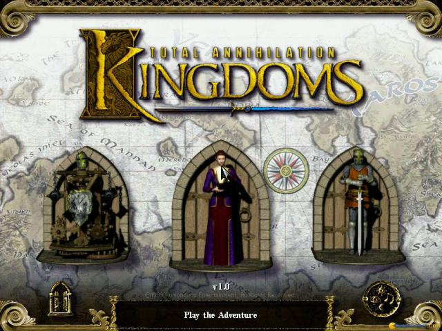 Total Annihilation: Kingdoms - title cover