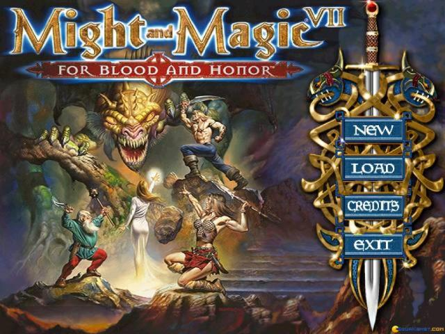 Might and Magic 7: For Blood and Honor - title cover