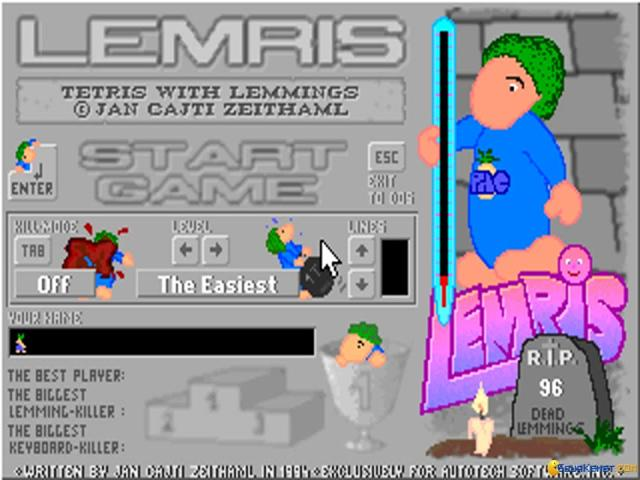 Lemris - game cover