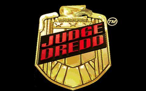 Judge Dredd - title cover