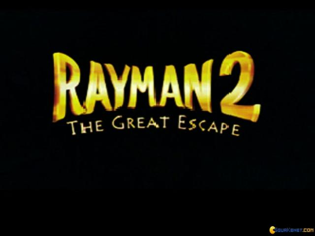 Rayman 2: The Great Escape - title cover