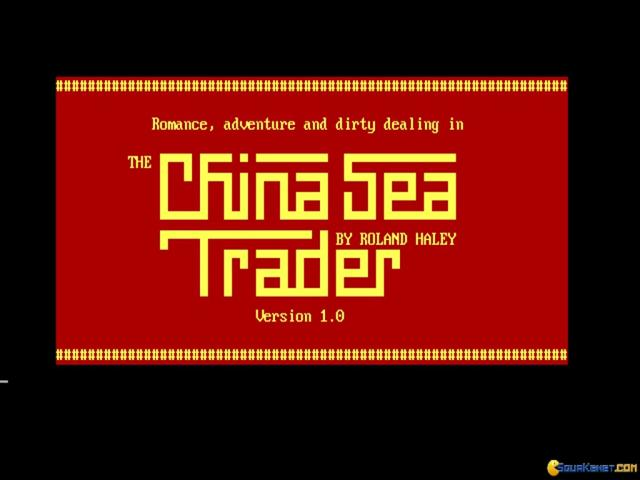 China Sea Trader - title cover