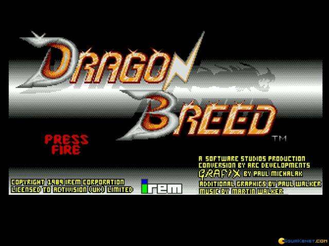 Dragon Breed - title cover