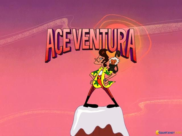 Ace Ventura - game cover