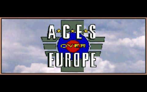 Aces over Europe - game cover