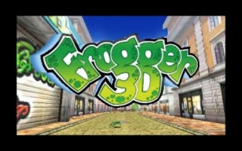 Frogger 3D - game cover