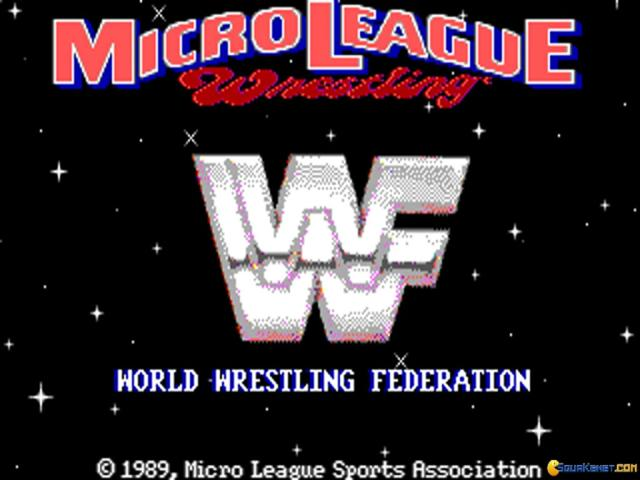 Micro League wrestling - title cover