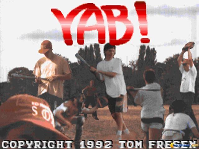 YAB! Baseball - game cover