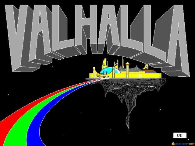 Valhalla - title cover