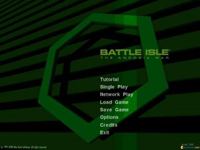 Battle Isle: The Andosia War - title cover