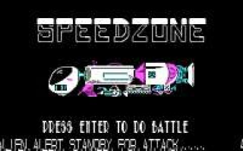 Speed Zone - title cover