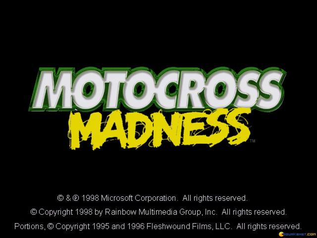 Motocross Madness - game cover