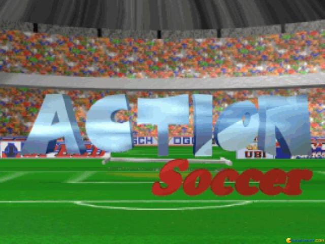 Action Soccer - game cover