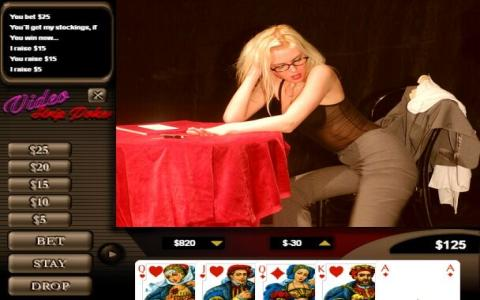 Video Strip Poker - title cover