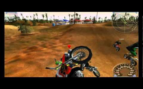 Motocross Madness 2 - title cover