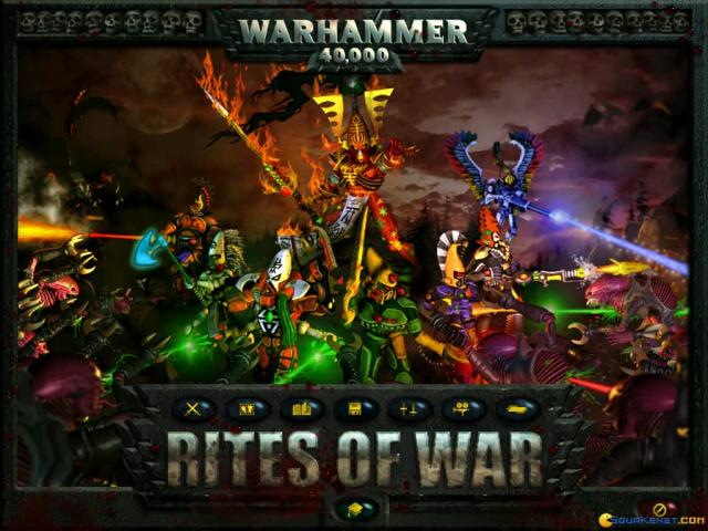 Warhammer 40.000: Rites of War - title cover