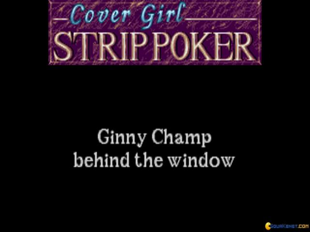 Cover Girl Strip Poker - game cover