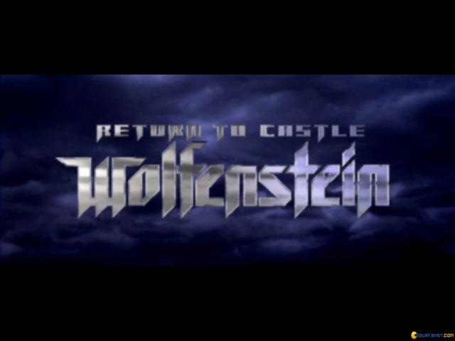Return to Castle Wolfenstein - title cover