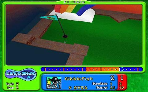 Mini Golf Megaworld - title cover