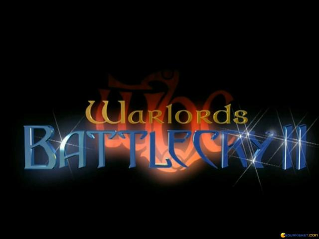 Warlords Battlecry 2 - title cover