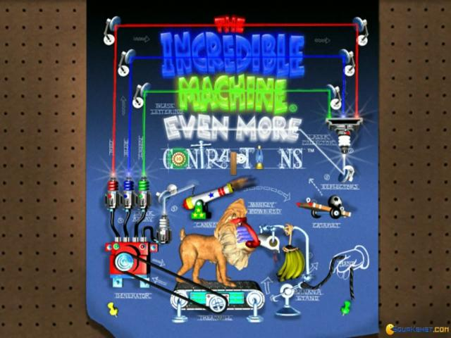 The Incredible Machine - Even More Contraptions - game cover