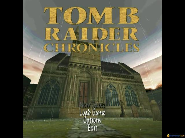 Tomb Raider V: Chronicles - game cover