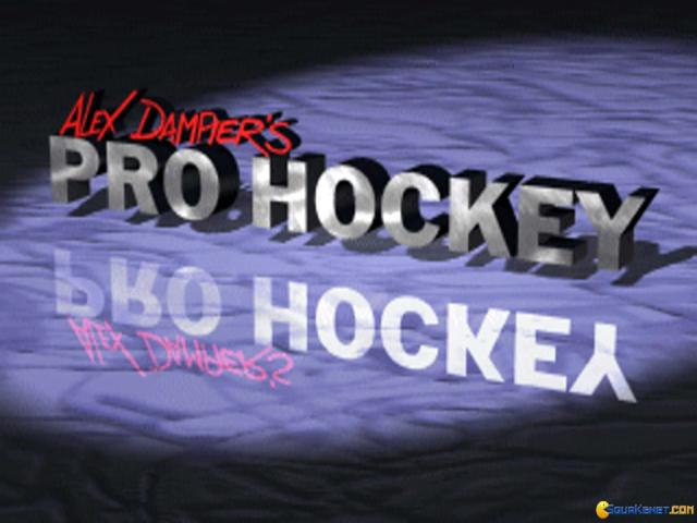 World Hockey '95 - title cover