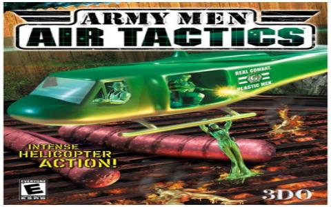 Army Men: Air Tactics - title cover