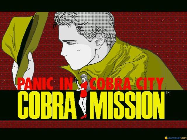 Cobra Mission - game cover