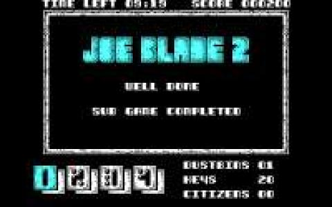 Joe Blade 2 - title cover