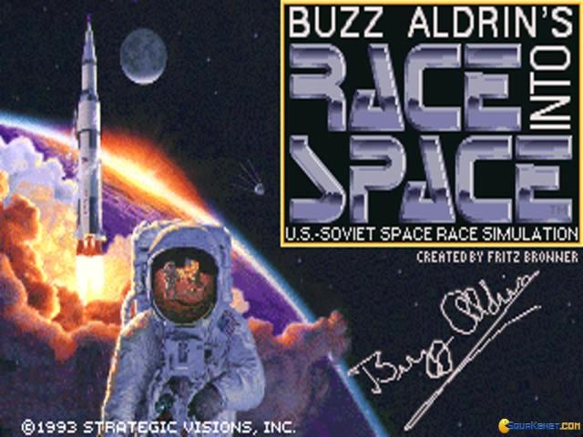 Buzz Aldrins Race into Space - title cover