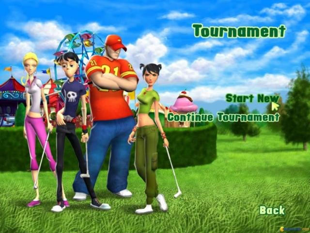 3D Ultra Minigolf adventures - title cover